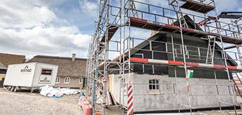 Renovering og tilbygning
